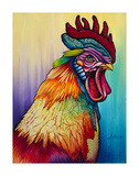 Rockin Rooster Posters by Steven Schuman