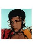 Muhammad Ali, c. 1977 Print by Andy Warhol