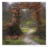 Rose Arbour I Print by Jon McNaughton
