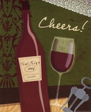 Cheers Prints by Jessica Flick