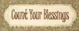 Count Your Blessings Posters van Grace Pullen