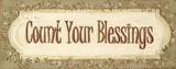 Count Your Blessings Prints by Grace Pullen