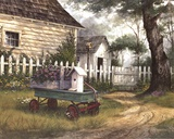 Antique Wagon Prints by Michael Humphries