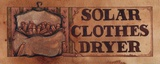 Solar Clothes Dryer Print by Diane Knott