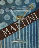 Martini Print by Grace Pullen