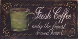 Fresh Coffee Poster by Grace Pullen