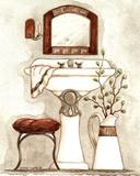 Athena IV Classic Bath Prints by Diane Knott