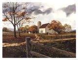 Autumn Cascade - Autumn Barn Posters by Michael Humphries