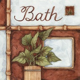 Bath (over a green plant) Prints by Diane Knott