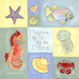 Dreams As Big As The Ocean Posters by Stephanie Marrott