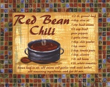 Red Bean Chilli Prints by Grace Pullen