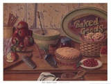 Baked Goods Prints by I. Lane