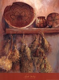 Apache Basketry Prints by Marty LeMessurier