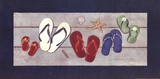Family Flip Flops Prints by Stephanie Marrott