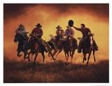 Kickin Up Dust Plakater af Jack Sorenson