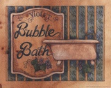 Bubble Bath Poster by Diane Knott