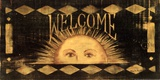 Welcome Sun Art by Grace Pullen