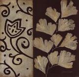 Brown Leaf III Láminas por Stephanie Marrott