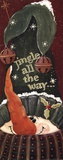 Jingle All the Way Posters by Jo Moulton