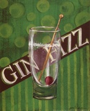 Gin Fizz Prints by Grace Pullen