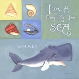 Love As Deep As The Sea Prints by Stephanie Marrott