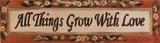 All This Grow Poster van Grace Pullen