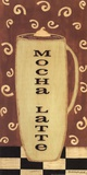Mocha Latte Poster by Sue Allemand