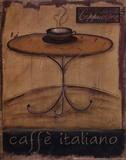 Caffe Italiano Art by Kim Klassen
