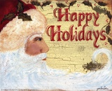 Happy Holidays Prints by Grace Pullen