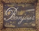 Bonjour Posters by Grace Pullen