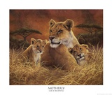 Motherly Prints by Lucie Bilodeau