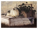 White Pumpkins Posters by Michael Humphries