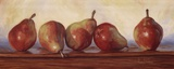 Pears II Prints by Lucie Bilodeau