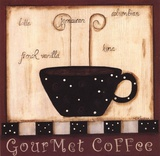 Gourmet Coffee Prints by Kim Klassen