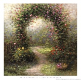 Rose Arbour II Prints by Jon McNaughton