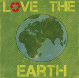 Love the Earth Poster by Louise Carey
