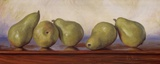 Pears I Posters by Lucie Bilodeau