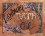 Lavender Bath Oil Prints by Diane Knott