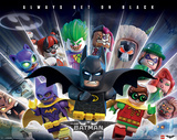 Lego Batman- Always Bet On Black Plakater