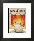 The New Yorker Cover - December 19, 2016 Art Print by Ana Juan