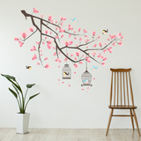 Cherry Blossom Branch Muursticker