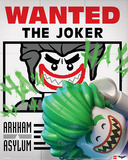 Lego Batman- Wanted! The Joker Plakater