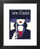 The New Yorker Cover - September 19, 2016 Art Print by Malika Favre