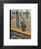 The New Yorker Cover - December 5, 2016 Wall Art by Peter de Sève