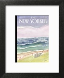 The New Yorker Cover - August 29, 2016 Art Print by Jean-Jacques Sempé
