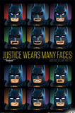 Lego Batman- Justice Wears Many Faces Poster