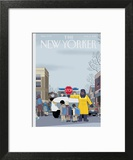 The New Yorker Cover - March 14, 2016 Wall Art by Chris Ware