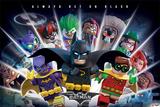 Lego Batman- Always Bet On Black Posters
