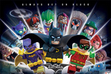 Lego Batman- Always Bet On Black Poster