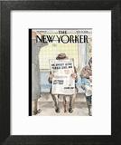 The New Yorker Cover - November 14, 2016 Art Print by Barry Blitt